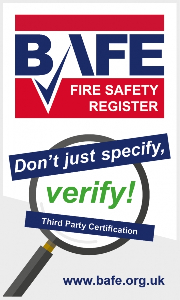 SSAIB Support New BAFE Don't Just Specify, Verify! Campaign