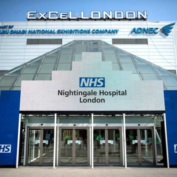 SSAIB Pride at Registered Firm Assisting with NHS Nightingale Hospital Transformation