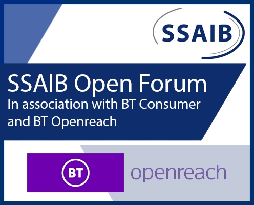 SSAIB to Host Online Open Forum Alongside BT on October 16
